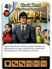 Clark Kent - Daily Planet Photographer (Die & Card Combo)