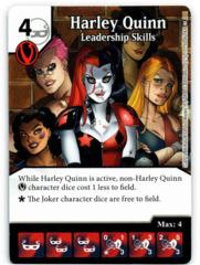 Harley Quinn - Leadership Skills (Die & Card Combo)