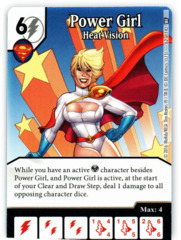 Power Girl - Heat Vision (Die & Card Combo)