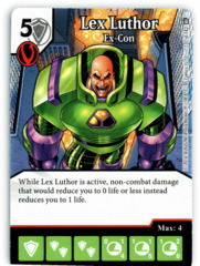 Lex Luthor - Ex-Con (Die & Card Combo)