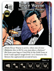 Bruce Wayne - International Playboy (Die & Card Combo)