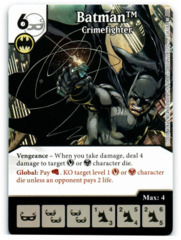 Batman - Crimefighter (Die & Card Combo)