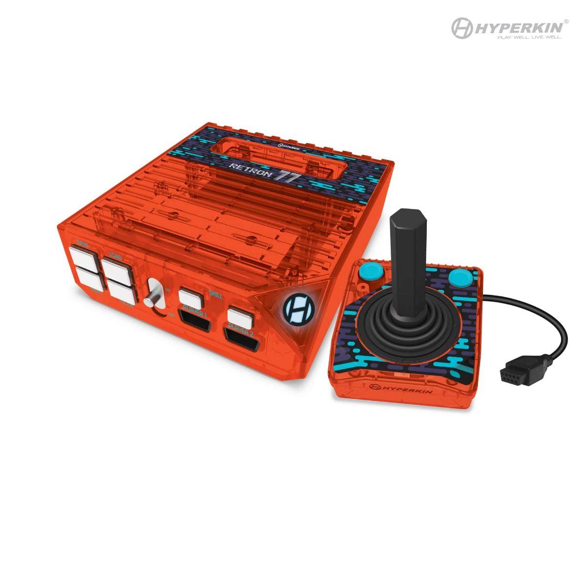 Hyperkin RetroN 77: HD Gaming Console for 2600 - Retro Amber