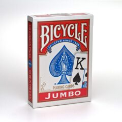 Bicycle Playing Cards (Jumbo Face Red)