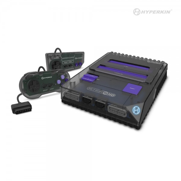 Hyperkin RetroN 2 HD for NES / Super NES / Super Famicom - Space Black