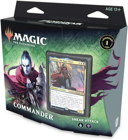 Zendikar Rising - Sneak Attack Commander Deck