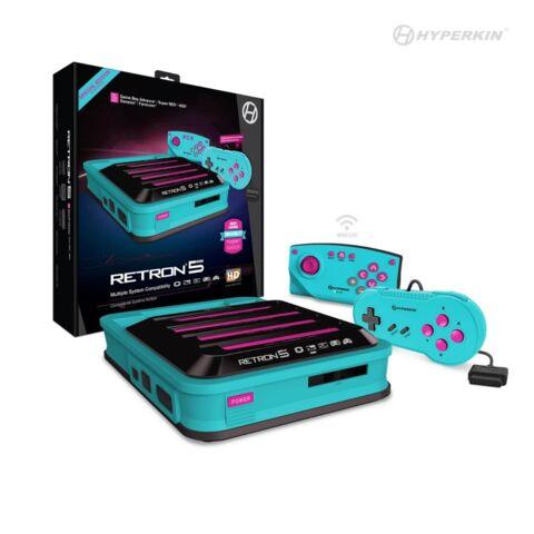 Hyperkin RetroN 5 HD Gaming Console for GBA / GBC / GB / NES / FC / SNES / SG - Hyper Beach