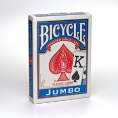 Bicycle Playing Cards (Jumbo Face Blue)