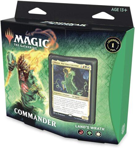Zendikar Rising - Lands Wrath Commander Deck