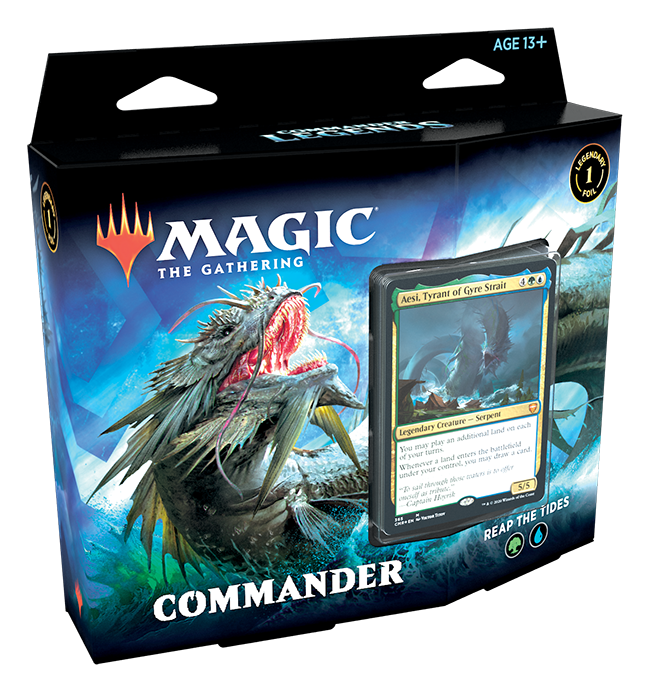 Commander Legends Commander Deck: Reap the Tides