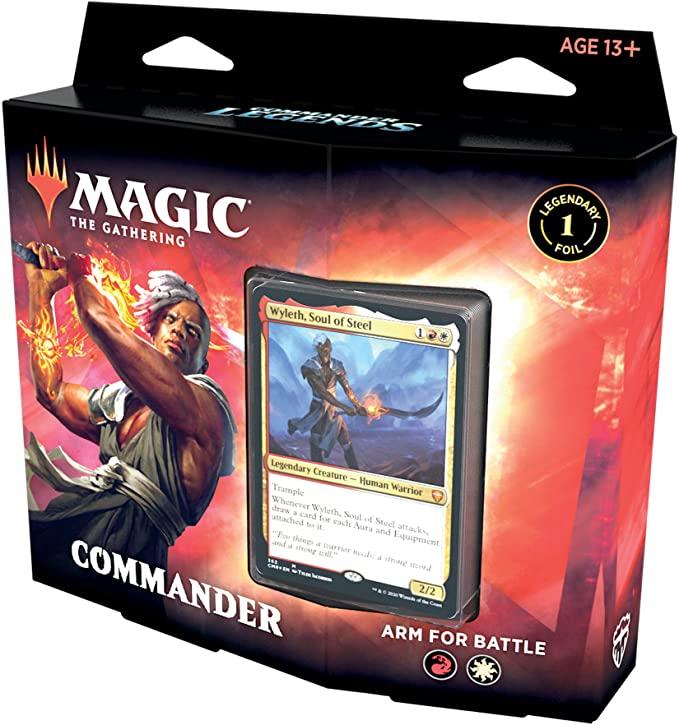 Commander Legends Commander Deck: Arm for Battle