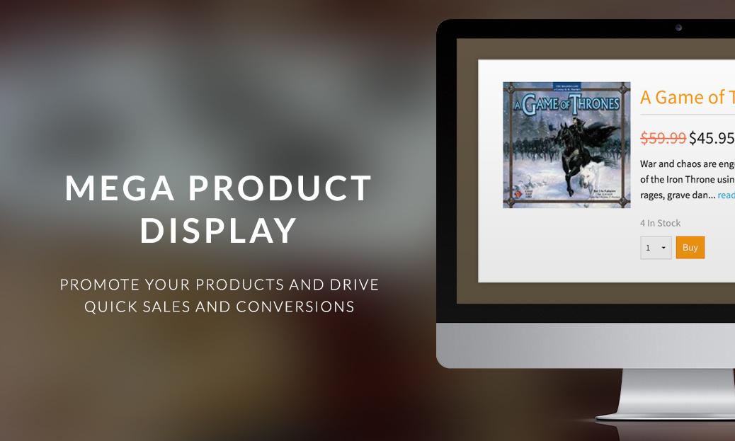 Mega Product Display