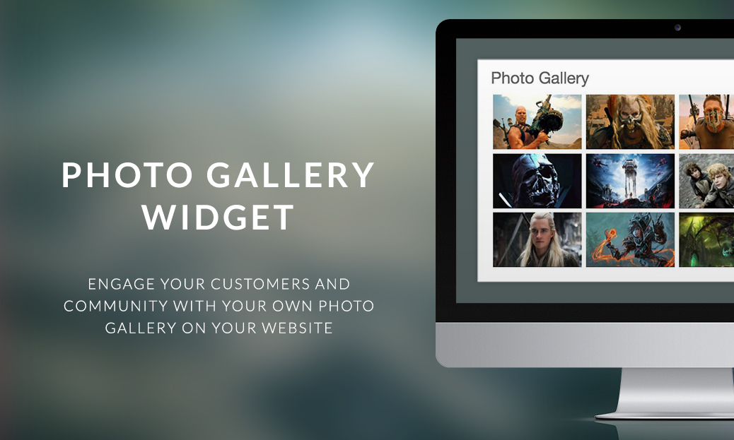 Photo Gallery Widget