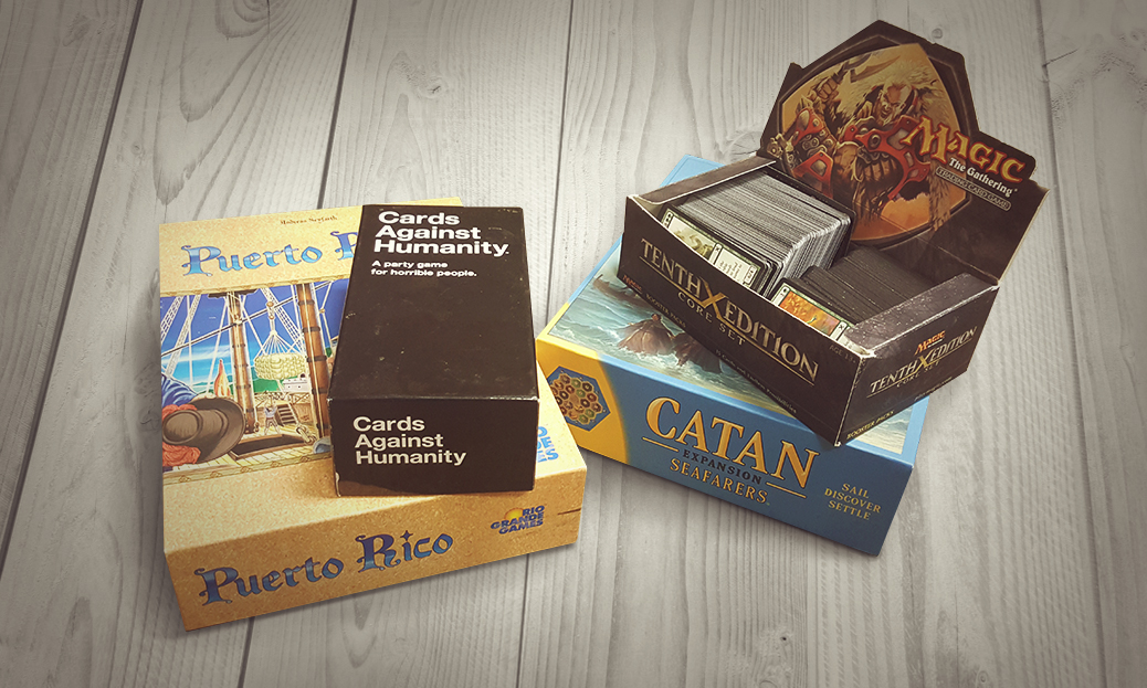 Tabletop Games Category Landing Page
