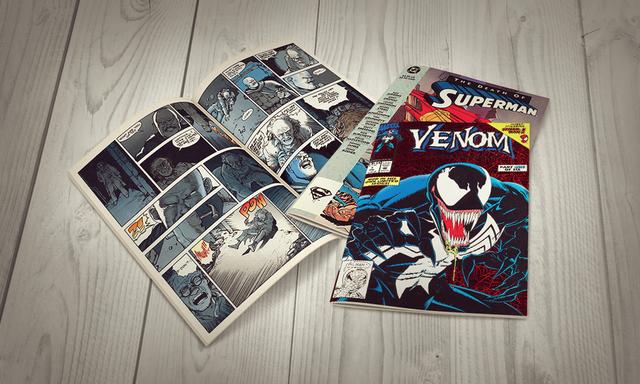 Comics Category Landing Page