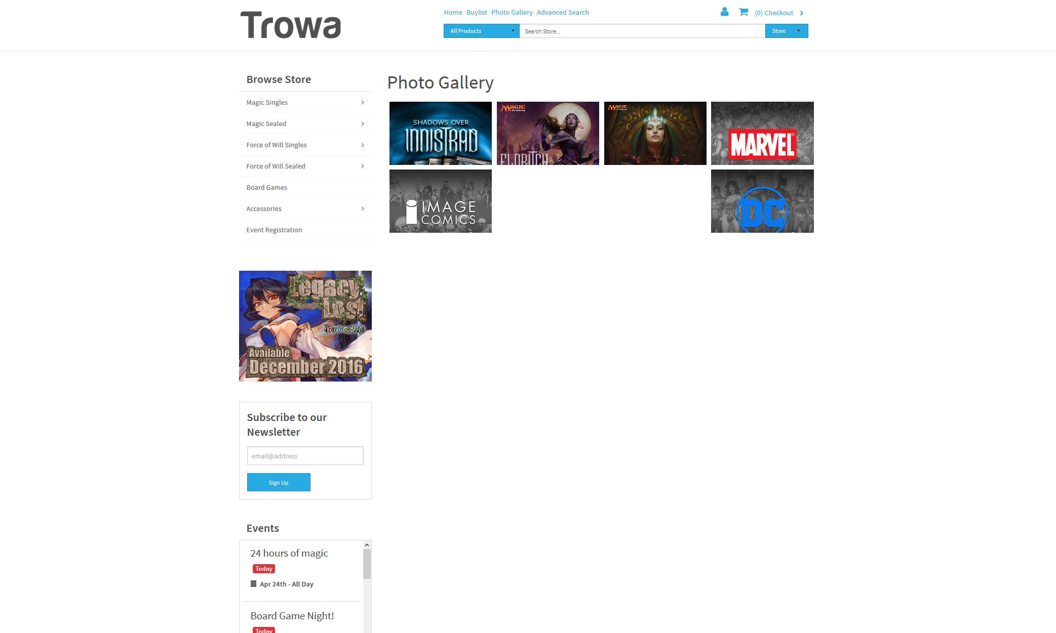 Trowa - Premium Theme