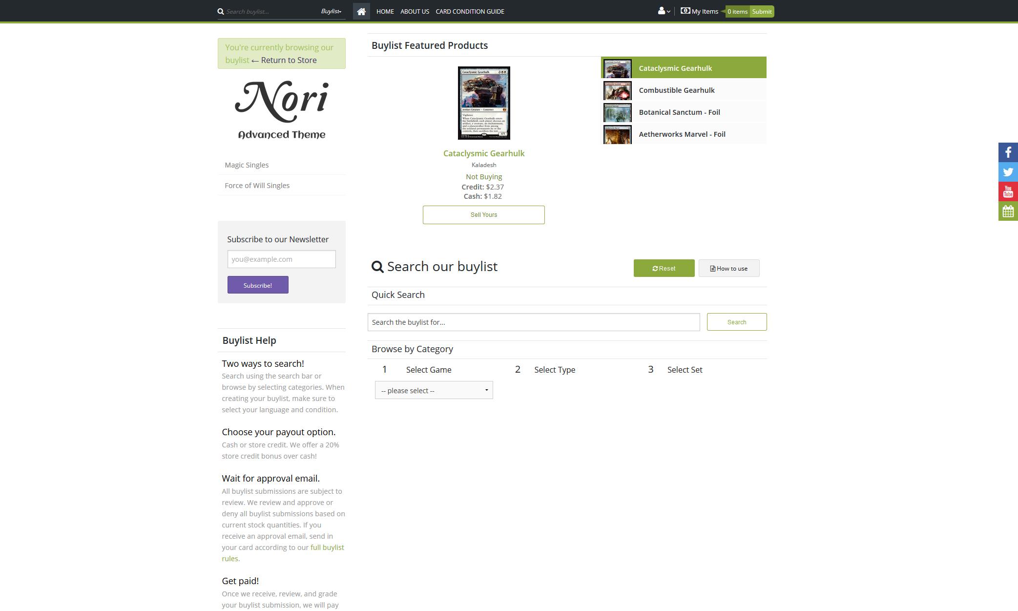 Nori - Premium Theme