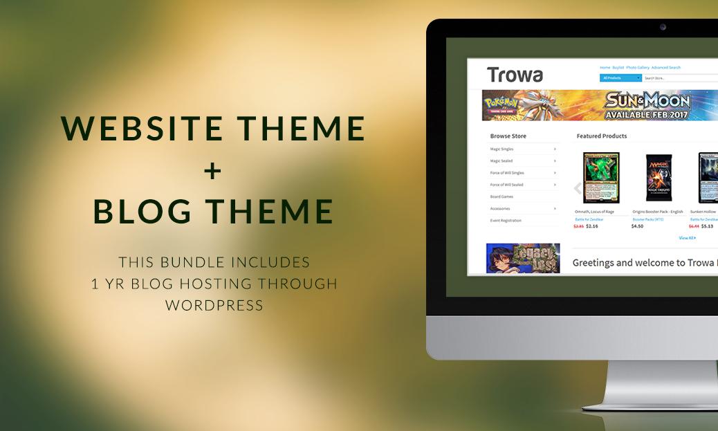 Trowa Premium Theme + Blog Theme Bundle