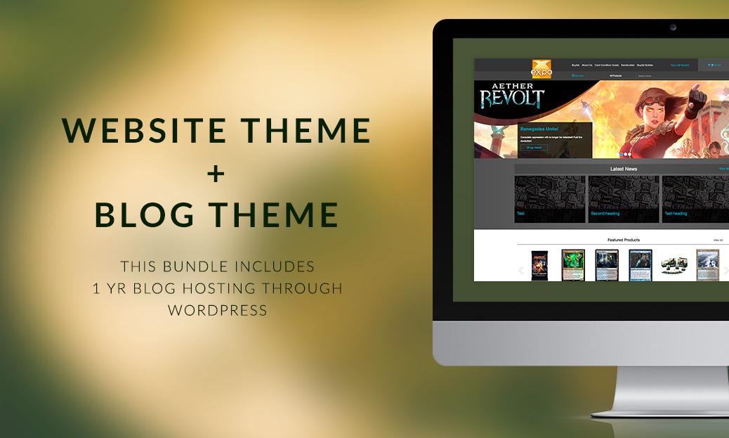 Expo Premium Theme + Blog Theme Bundle