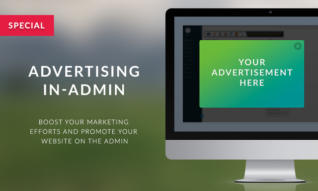 Advertising - Special In-Admin