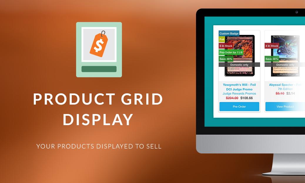 Product Grid Display