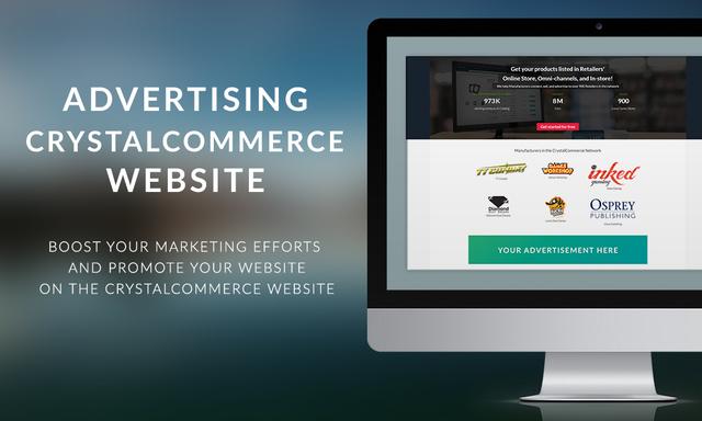 Advertising - CrystalCommerce Website