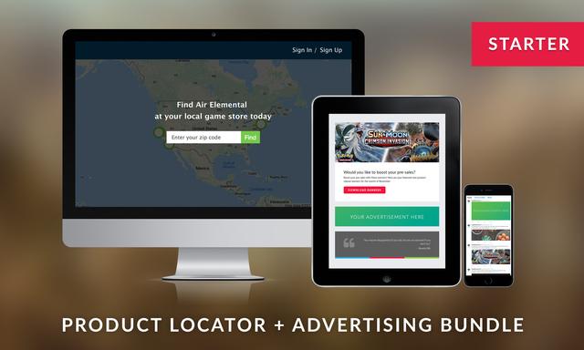 Product Locator + Advertising Starter Bundle