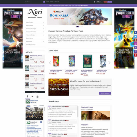 New Member Launch Package with Nori Premium Theme