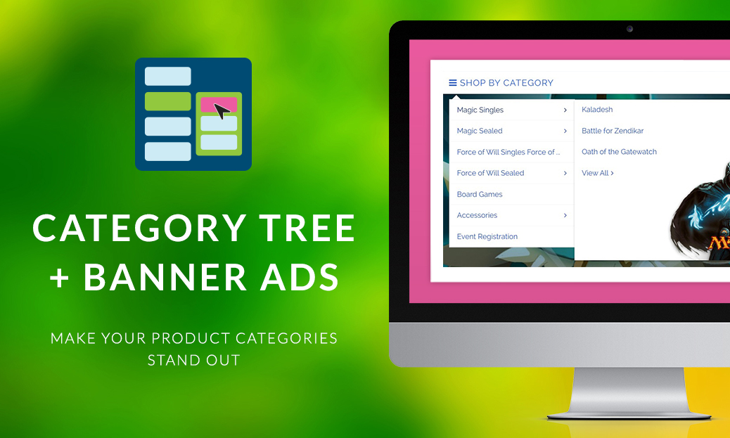 Enhanced Product Category Tree Widget
