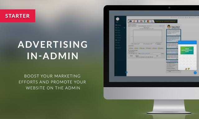 Advertising - Starter In-Admin