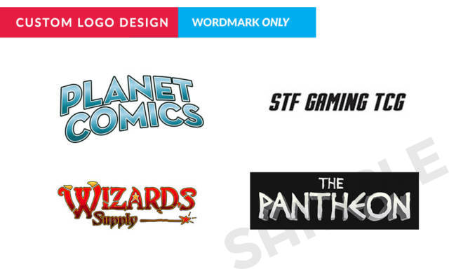 Custom Logo Design - Wordmark (Text) ONLY + 1 Design Iteration