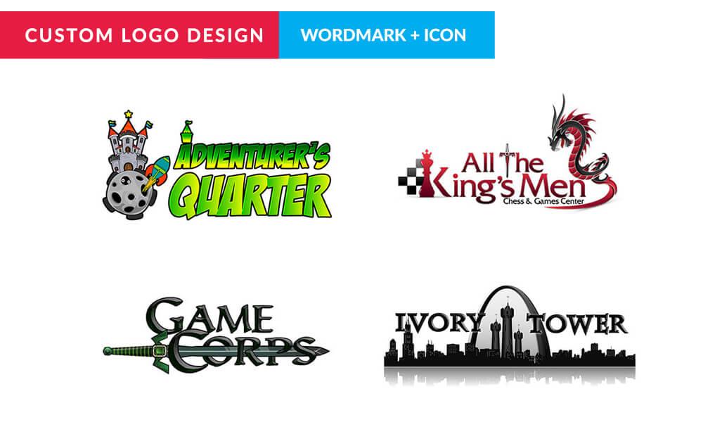 Custom Logo Design Design Consultation Wordmark Icon 4