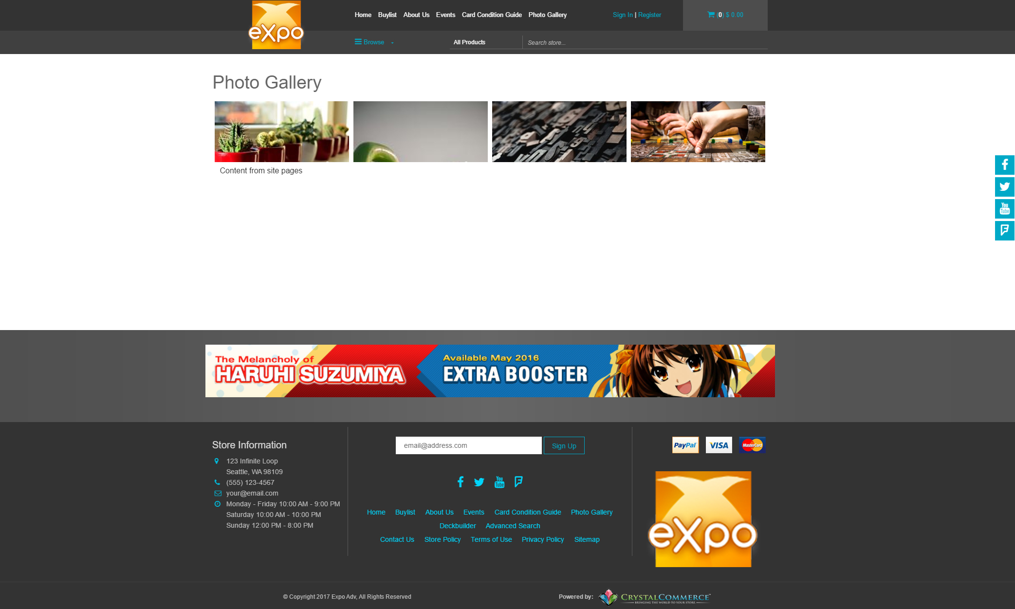 Expo - Premium Theme