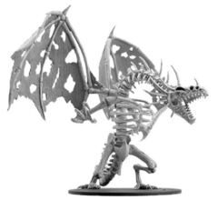 Pathfinder Battles Deep Cuts Unpainted Minis - Gargantuan Skeletal Dragon
