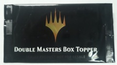 Double Masters Box Topper Booster Pack