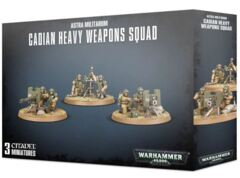 Cadian Heavy Weapon Squad - Astra Militarum