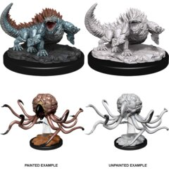 D&D Nolzur's Marvelous Miniatures – Grell & Basilisk
