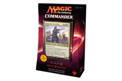 Commander 2016: Open Hostility Black/Red/Green/White Deck