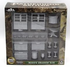 Pathfinder: Deep Cuts Unpainted Miniatures - Rusty Dragon Bar