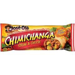 Chimichanga Steak & Cheese