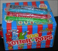Otter Popsicles / Bolis