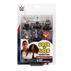 Heroclix WWE Series 1 set Rock 'n' Sock Connection Starter Set