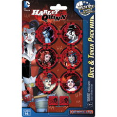 DC Comics HeroClix - The Joker's Wild! - Harley Quinn Dice & Token Pack