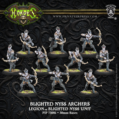 Blighted Nyss Archers/Swordsmen PIP 73086