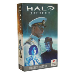 Halo: Fleet Battles - UNSC Bust Collection