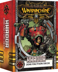 Warmachine Mk III 2016 Khador Deck