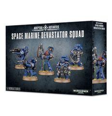 Space Marine Devastator Squad