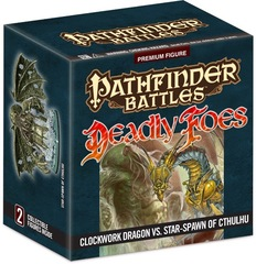Deadly Foes Clockwork Dragon Vs. Star Spawn of Cthulhu