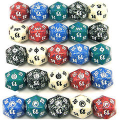 Magic Spindown Dice Lifecounters