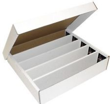 BCW Storage Box 5 Row White